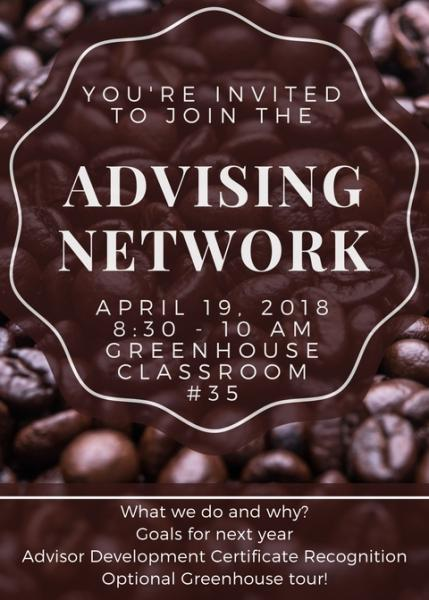 Advising Network Meeting