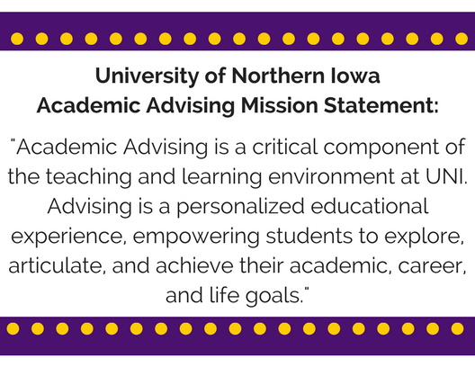 Academic Advising Mission Statement