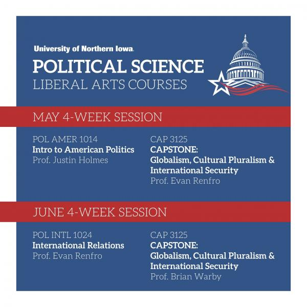 Summer Sessions 2020, Political Science