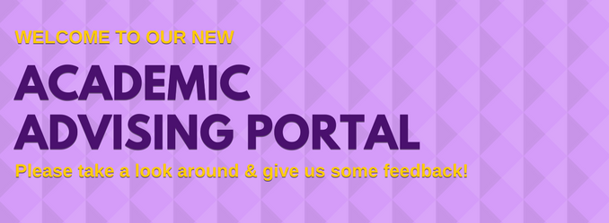 Welcome to the Academic Advising Portal